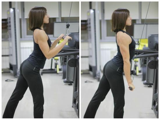 Triceps lat