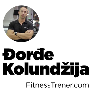 Fitness Trener Đorđe Kolundžija
